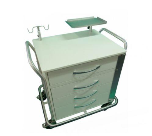 Carro de Emergência para uso em Sala de Ressonância Magnética