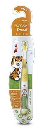 Escova Dental Infantil Topz Baby Macia