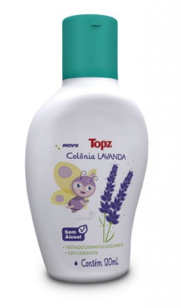 Colônia Lavanda Topz Baby 120 ml