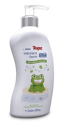 Sabonete Líquido Cabeça aos Pés Topz Baby 200ml