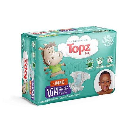 Fralda Descartável Topz Baby Jumbinho XG