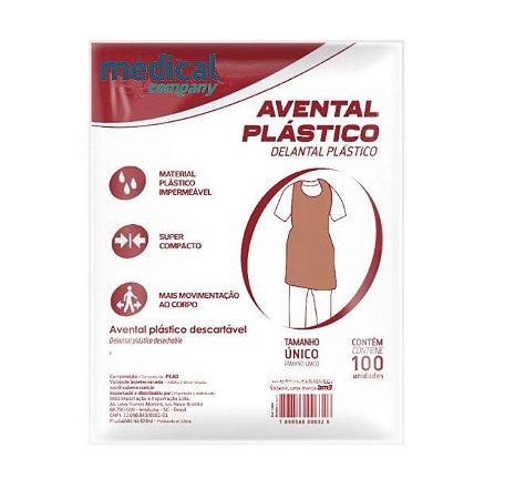 Avental Plástico