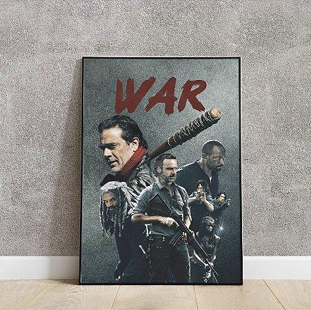 Placa decorativa The Walking Dead 2