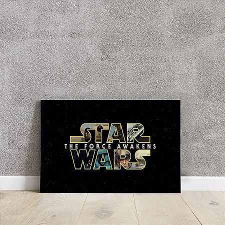 Placa decorativa Star Wars 2