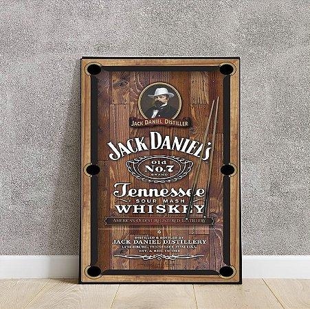 Placa decorativa Jack Daniel's 2