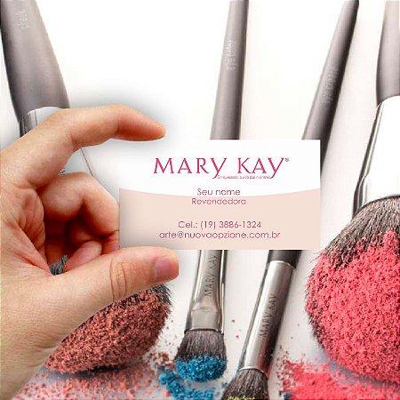 Cartão de visita Mary Kay 1 Econômico - 1000 unidades