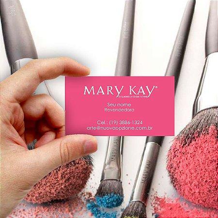 Cartão de visita Mary Kay 3 Econômico - 1000 unidades
