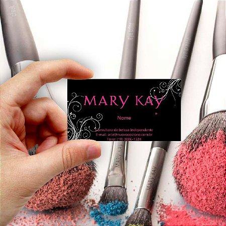 Cartão de visita Mary Kay 4 Econômico - 1000 unidades
