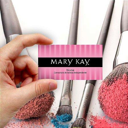 Cartão de visita Mary Kay 8 Econômico - 1000 unidades