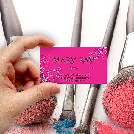 Cartão de visita Mary Kay 10 Econômico - 1000 unidades