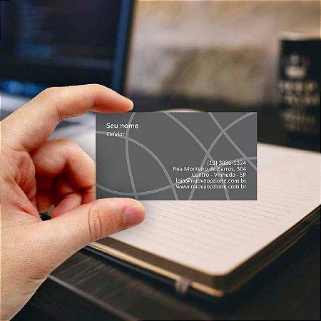 Cartão de visita para Arquiteto 4 Econômico - 1000 unidades