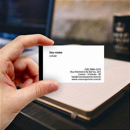 Cartão de visita para Arquiteto 5 Econômico - 1000 unidades