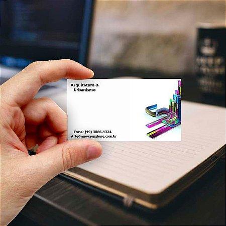 Cartão de visita para Arquiteto 9 Econômico - 1000 unidades