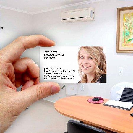 Cartão de visita para Dentista 1 - Econômico - 1000 unidades
