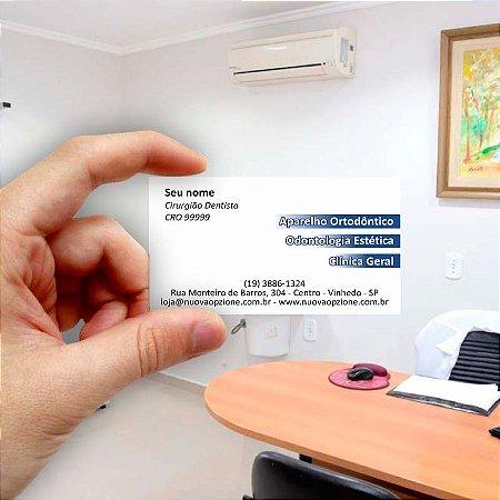 Cartão de visita para Dentista 2 - Econômico - 1000 unidades