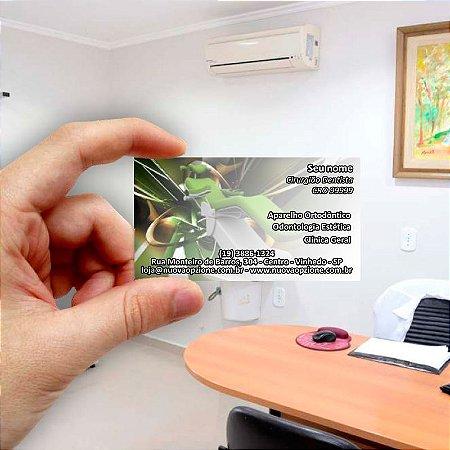 Cartão de visita para Dentista 4 - Econômico - 1000 unidades