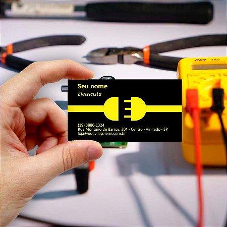 Cartão de visita para Eletricista 5 Econômico - 1000 unidades
