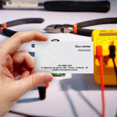 Cartão de visita para Eletricista 6 Econômico - 1000 unidades