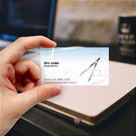 Cartão de visita para Engenheiro 1 Econômico - 1000 unidades