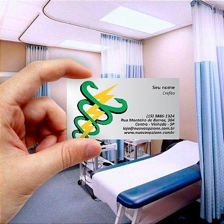 Cartão de visita para Fisioterapia 1 Econômico - 1000 unidades