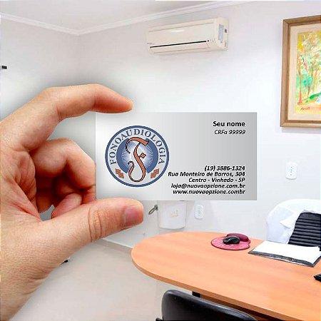 Cartão de visita para Fonoaudiologia 1 Econômico - 1000 unidades
