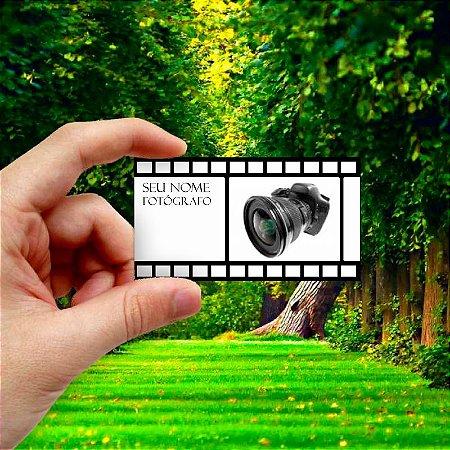 Cartão de visita para Fotógrafo 2 Econômico - 1000 unidades