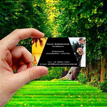 Cartão de visita para Fotógrafo 4 Econômico - 1000 unidades