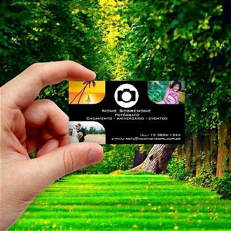 Cartão de visita para Fotógrafo 5 Econômico - 1000 unidades