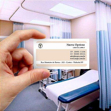 Cartão de visita para Fisioterapia 9 Econômico - 1000 unidades