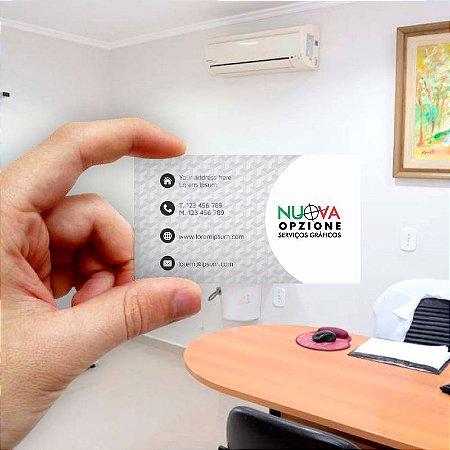 Cartão de visita para Empreendedores 1 - Econômico - 1000 unidades