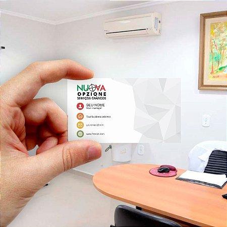 Cartão de visita para Empreendedores 4 - Econômico - 1000 unidades
