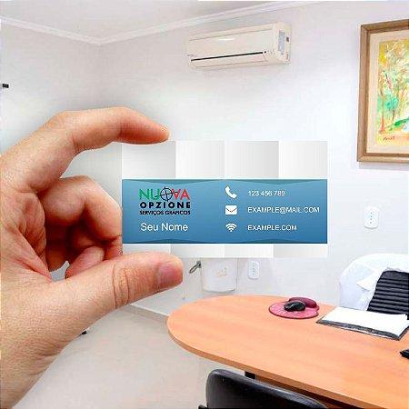Cartão de visita para Empreendedores 11 - Econômico - 1000 unidades