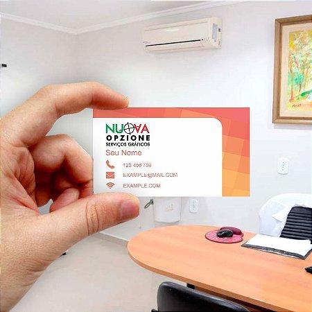 Cartão de visita para Empreendedores 12 - Econômico - 1000 unidades