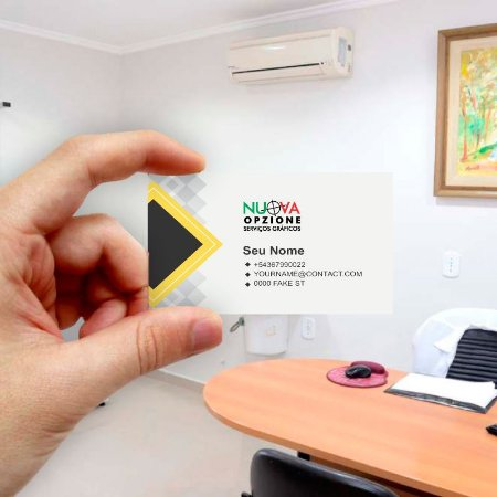 Cartão de visita para Empreendedores 13 - Econômico - 1000 unidades