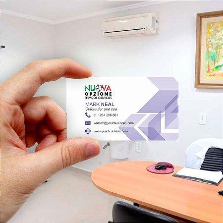 Cartão de visita para Empreendedores 18 - Econômico - 1000 unidades