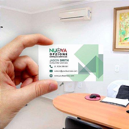 Cartão de visita para Empreendedores 19 - Econômico - 1000 unidades