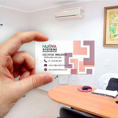 Cartão de visita para Empreendedores 20 - Econômico - 1000 unidades