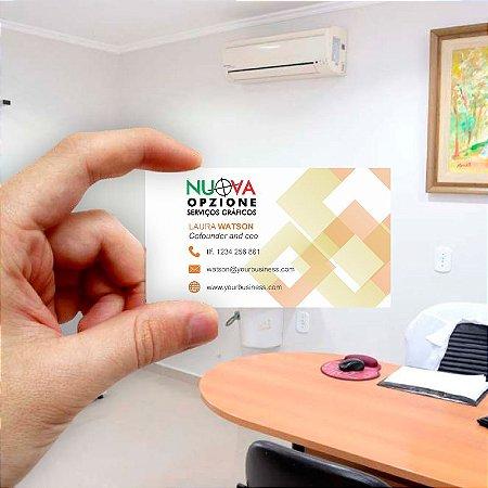 Cartão de visita para Empreendedores 21 - Econômico - 1000 unidades