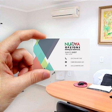Cartão de visita para Empreendedores 25 - Econômico - 1000 unidades