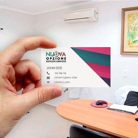 Cartão de visita para Empreendedores 26 - Econômico - 1000 unidades