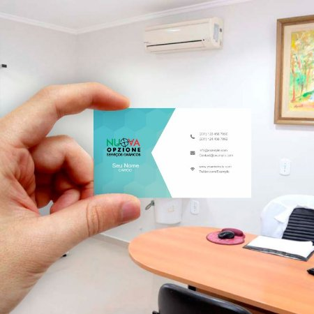 Cartão de visita para Empreendedores 28 - Econômico - 1000 unidades