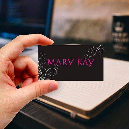 Cartão de visita Mary Kay 1 Profissional