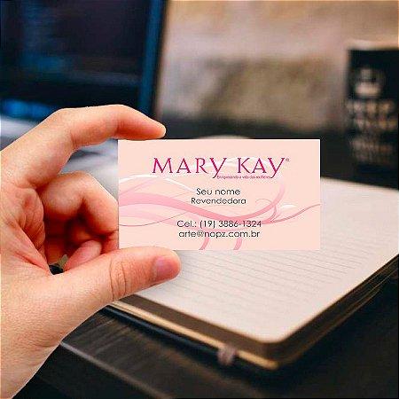 Cartão de visita Mary Kay 8 Profissional