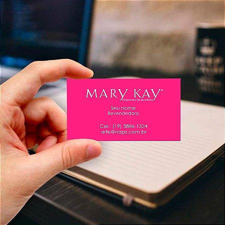 Cartão de visita Mary Kay 9 Profissional