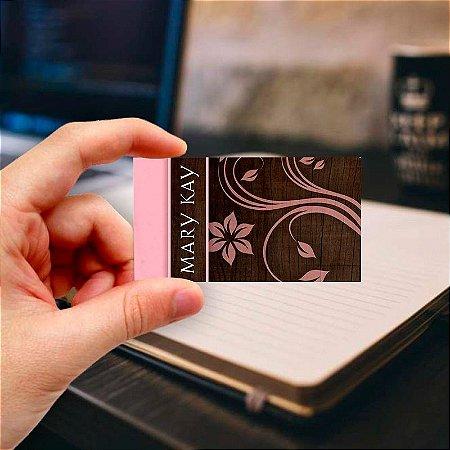Cartão de visita Mary Kay 10 Profissional