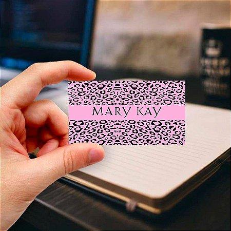 Cartão de visita Mary Kay 15 Profissional