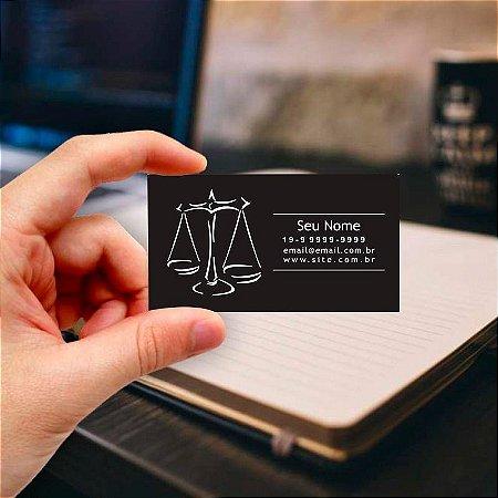 Cartão de visita para Advogado 1 - Profissional