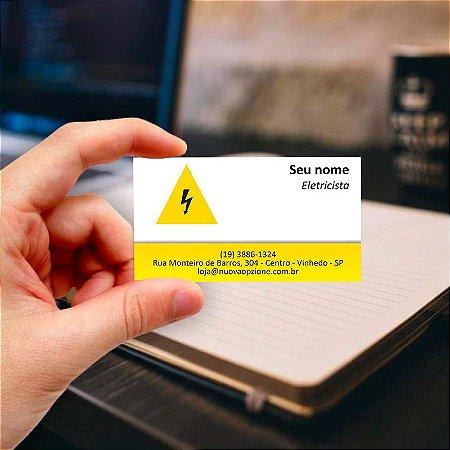 Cartão de visita para Eletricista 8 Profissional