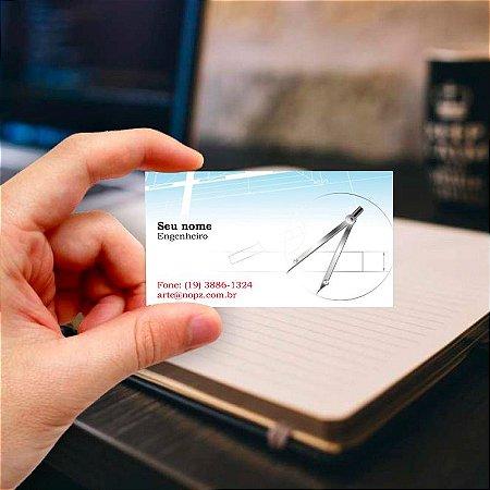 Cartão de visita para Engenharia 3 Profissional