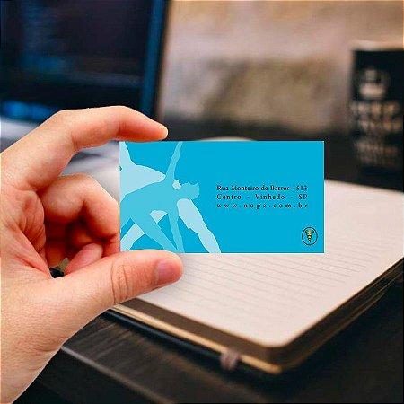 Cartão de visita para Fisioterapia 2 Profissional